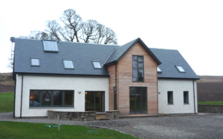 new build houses saul galloway falkirk